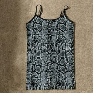 Black and gray camisole